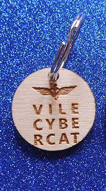 Wings Over Scotland Vile Cybercat collar tag