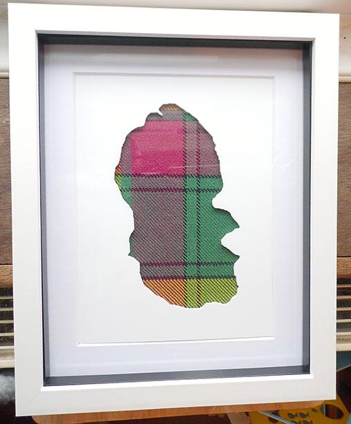 Isle of Arran Acrylic cutout