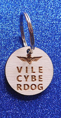 Wings Over Scotland Vile cyberdog collar tag