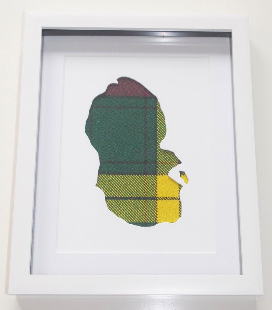 Isle of Arran Acrylic cutout