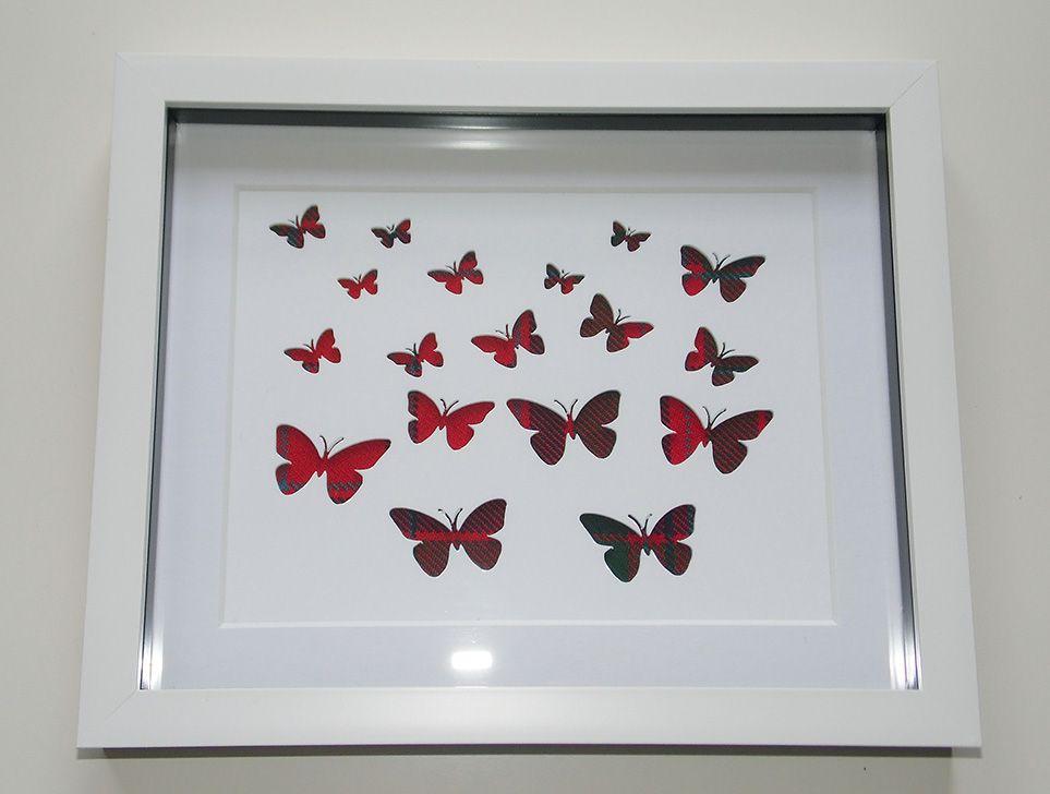 Butterflies cutout