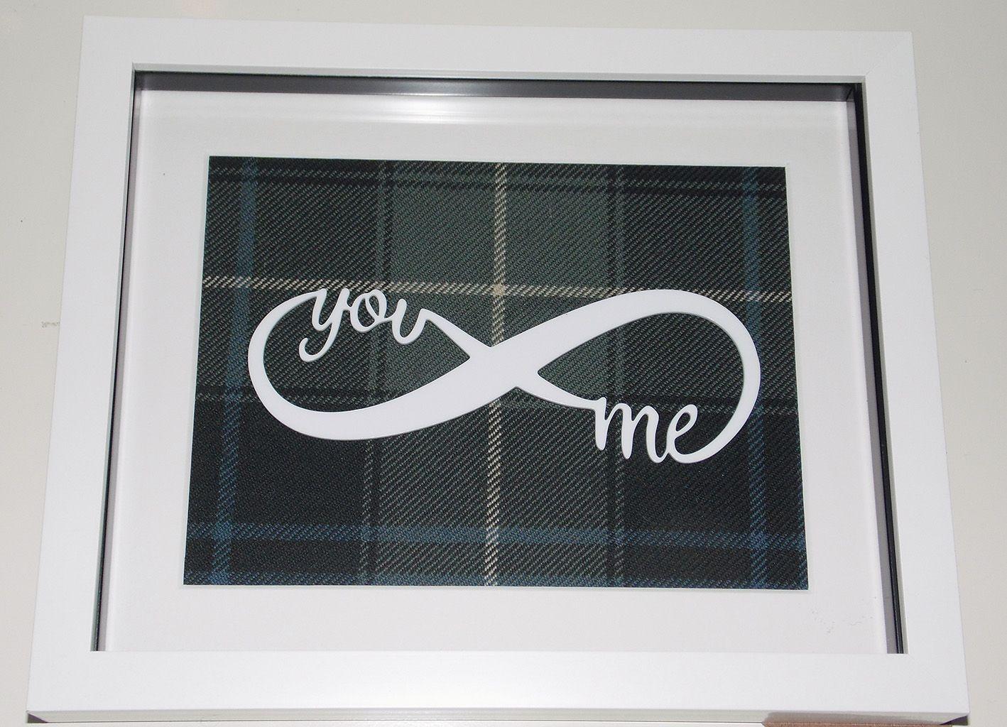 You & Me Infinity symbol