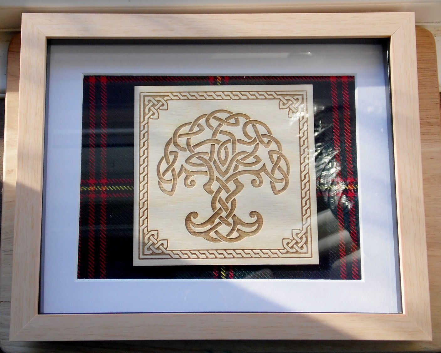 Evelyn`s Tree of life engraving