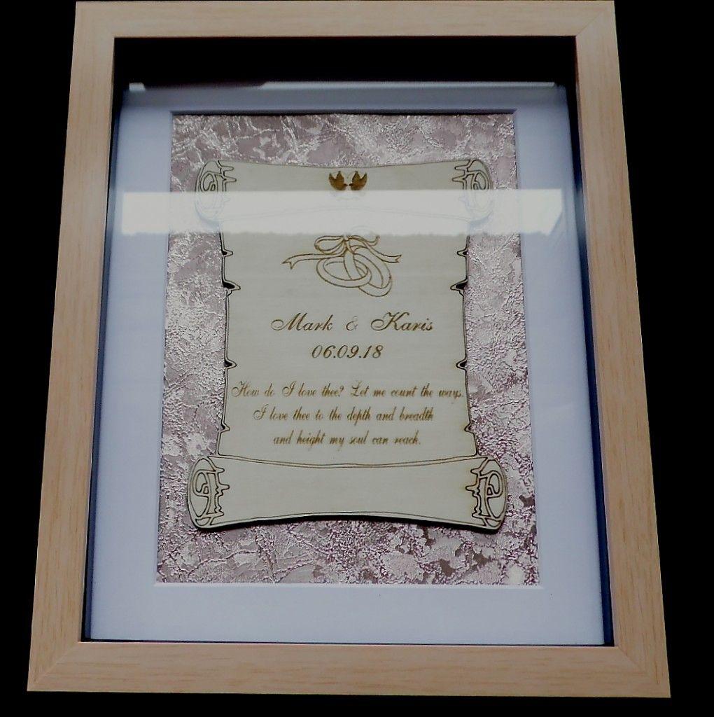 Wedding scroll