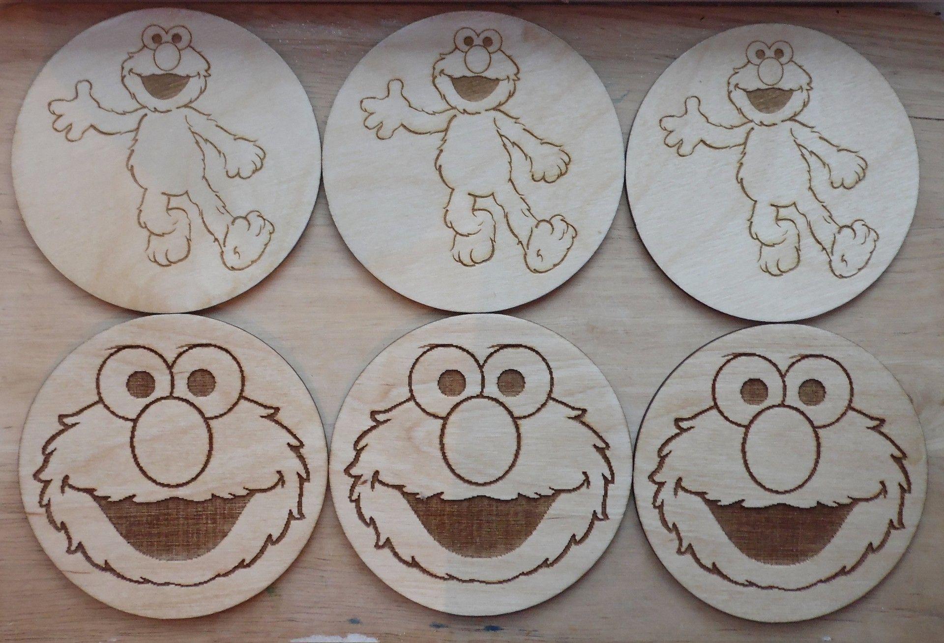 Custom engraved coaster