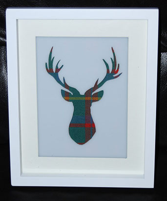 Stags head cutout