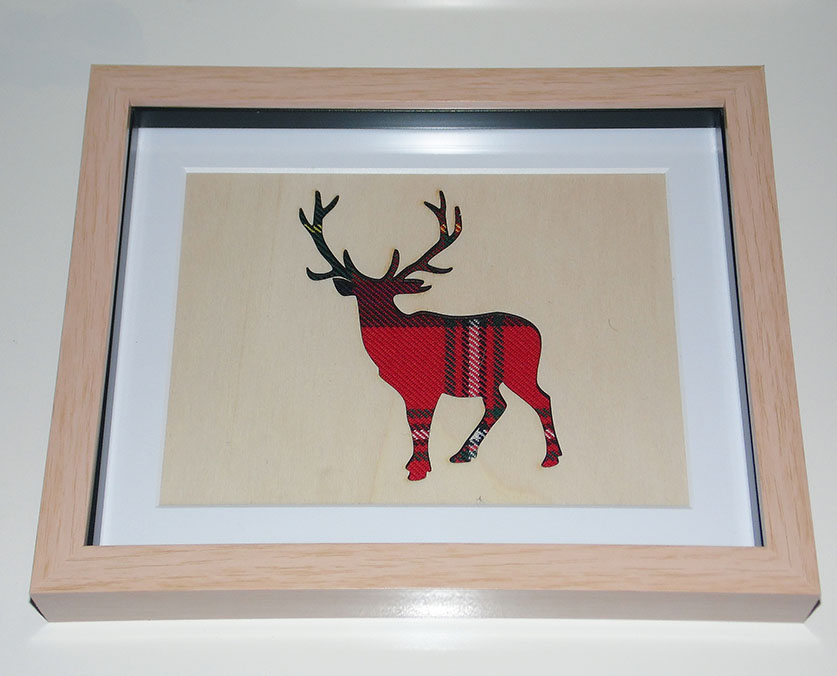 Wooden Stag cutout
