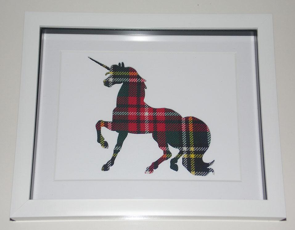 Unicorn cutout