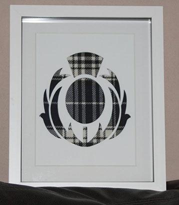 Flower of Scotland cutout