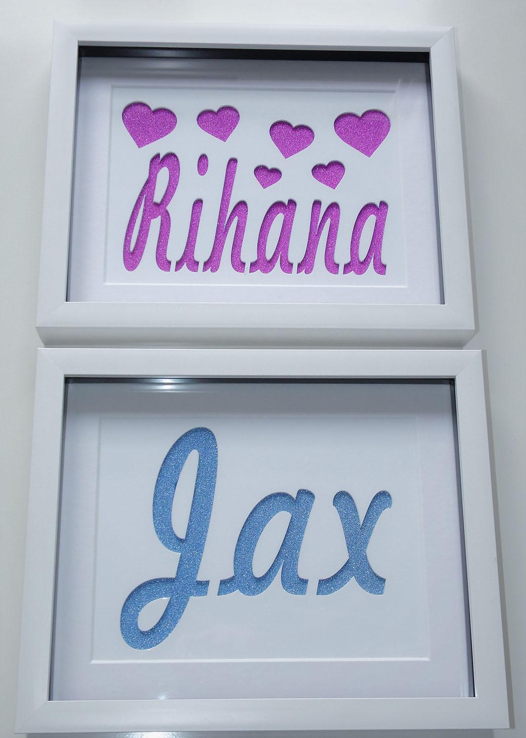 Custom Name Frame