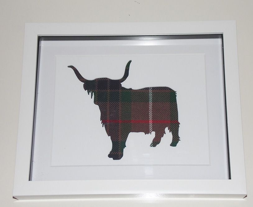 Highland Cow cut out