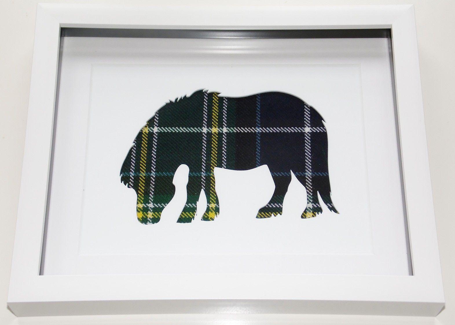 Acrylic Shetland pony cutout