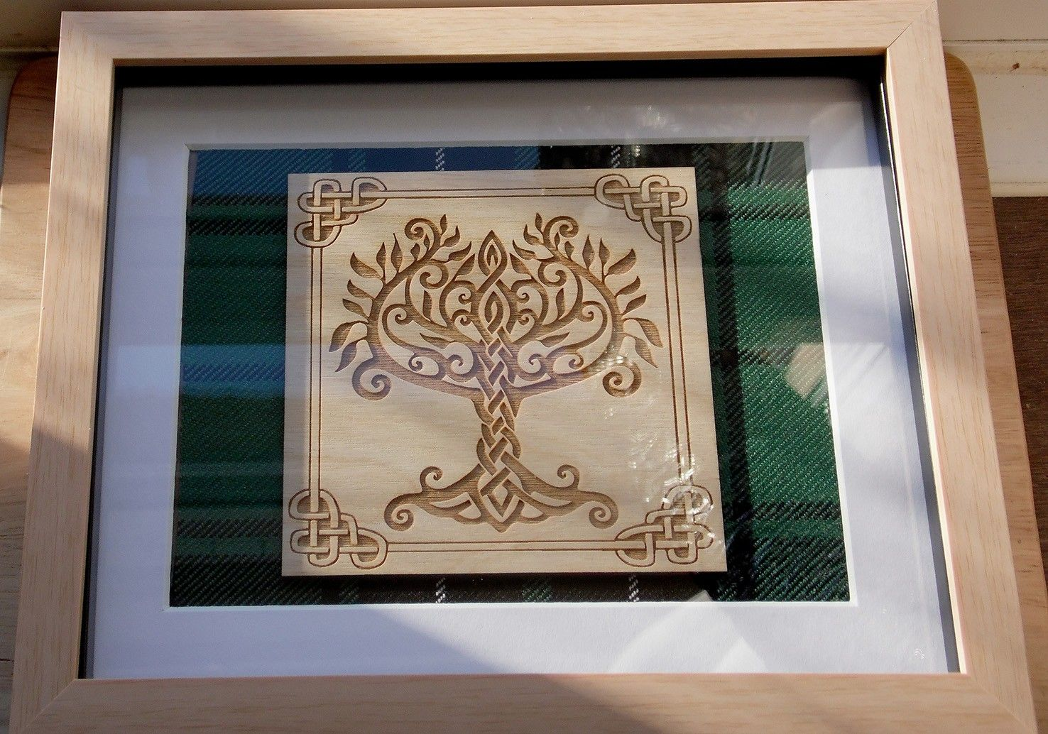Alison`s tree of life engraving
