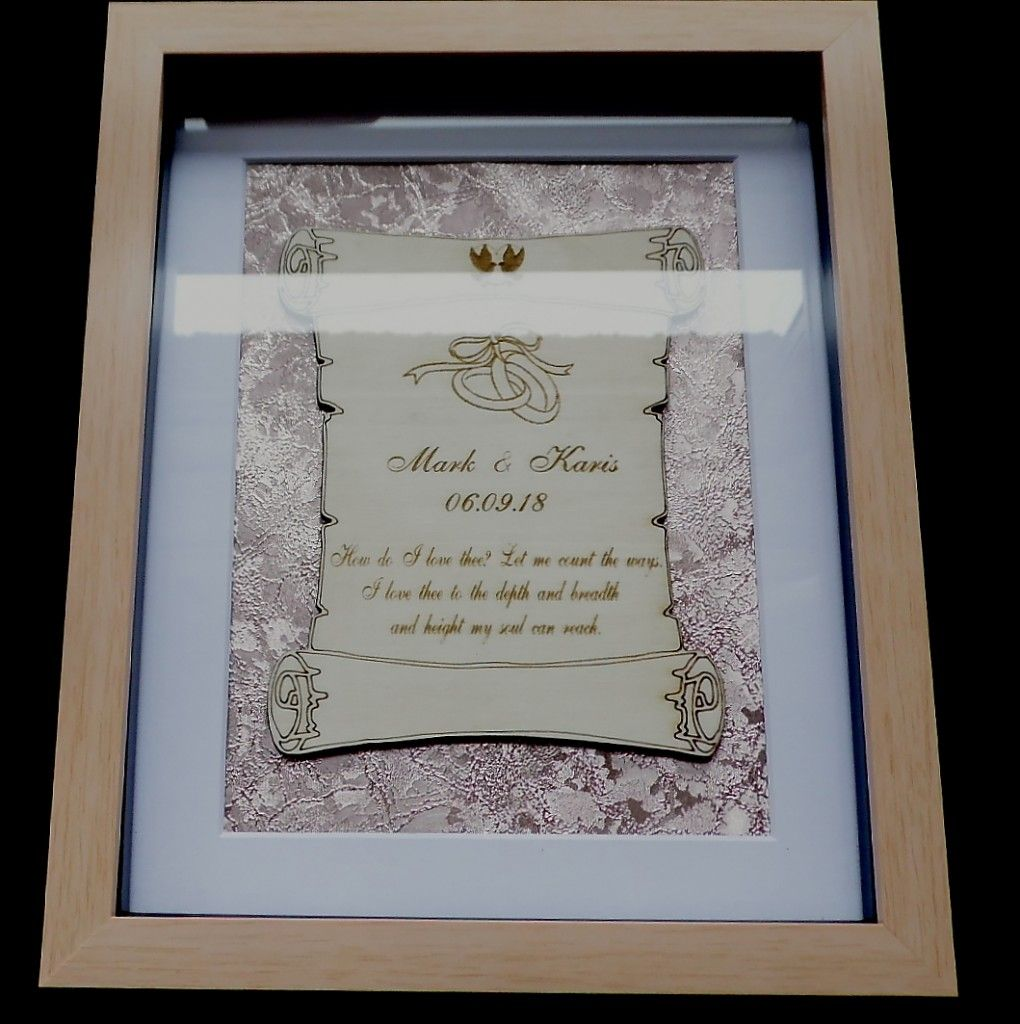Wedding scroll