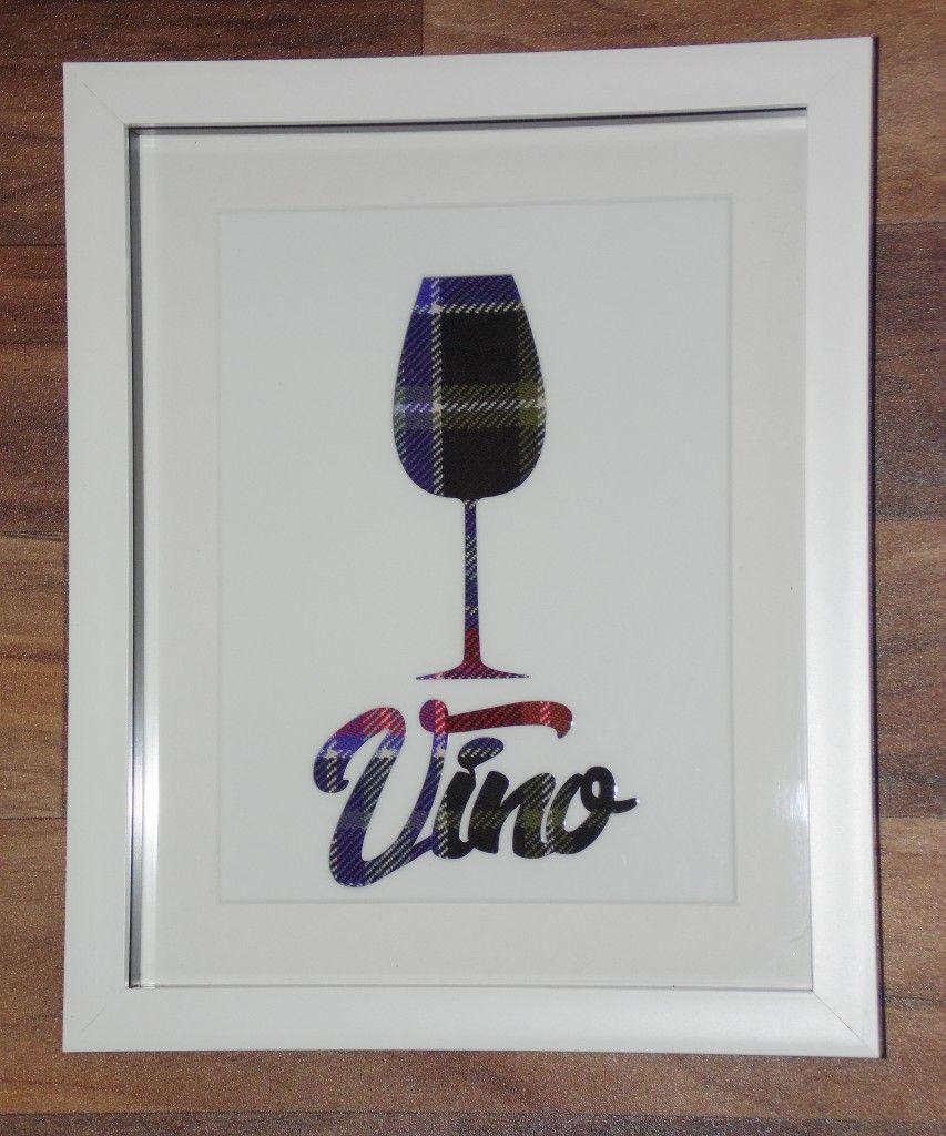 Tartan Wine frame #2