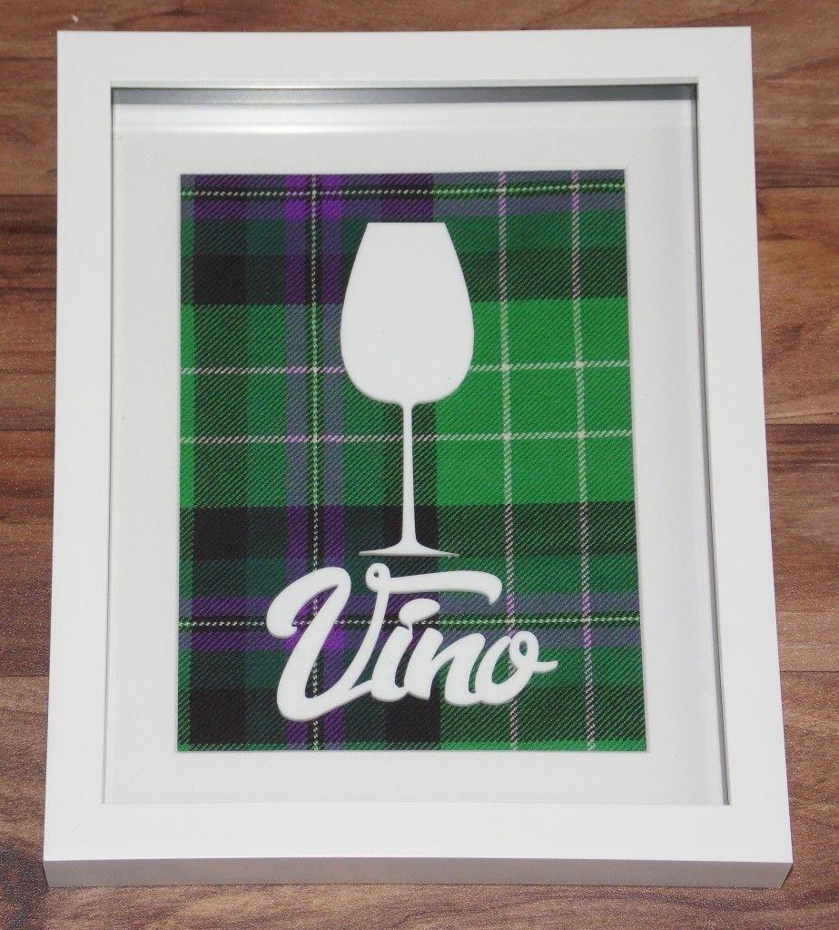 Tartan Wine frame #1