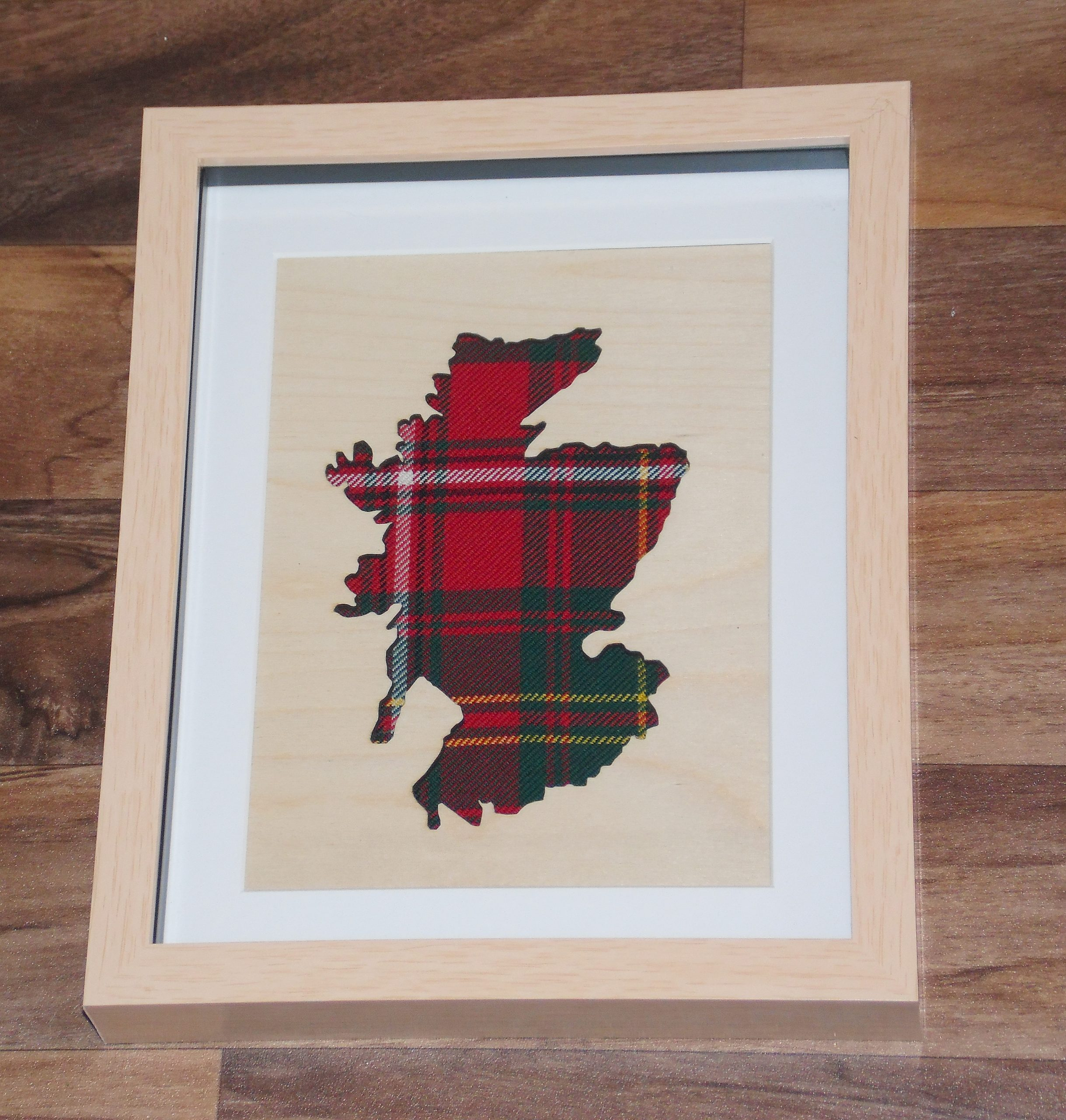 Wooden Scotland cutout