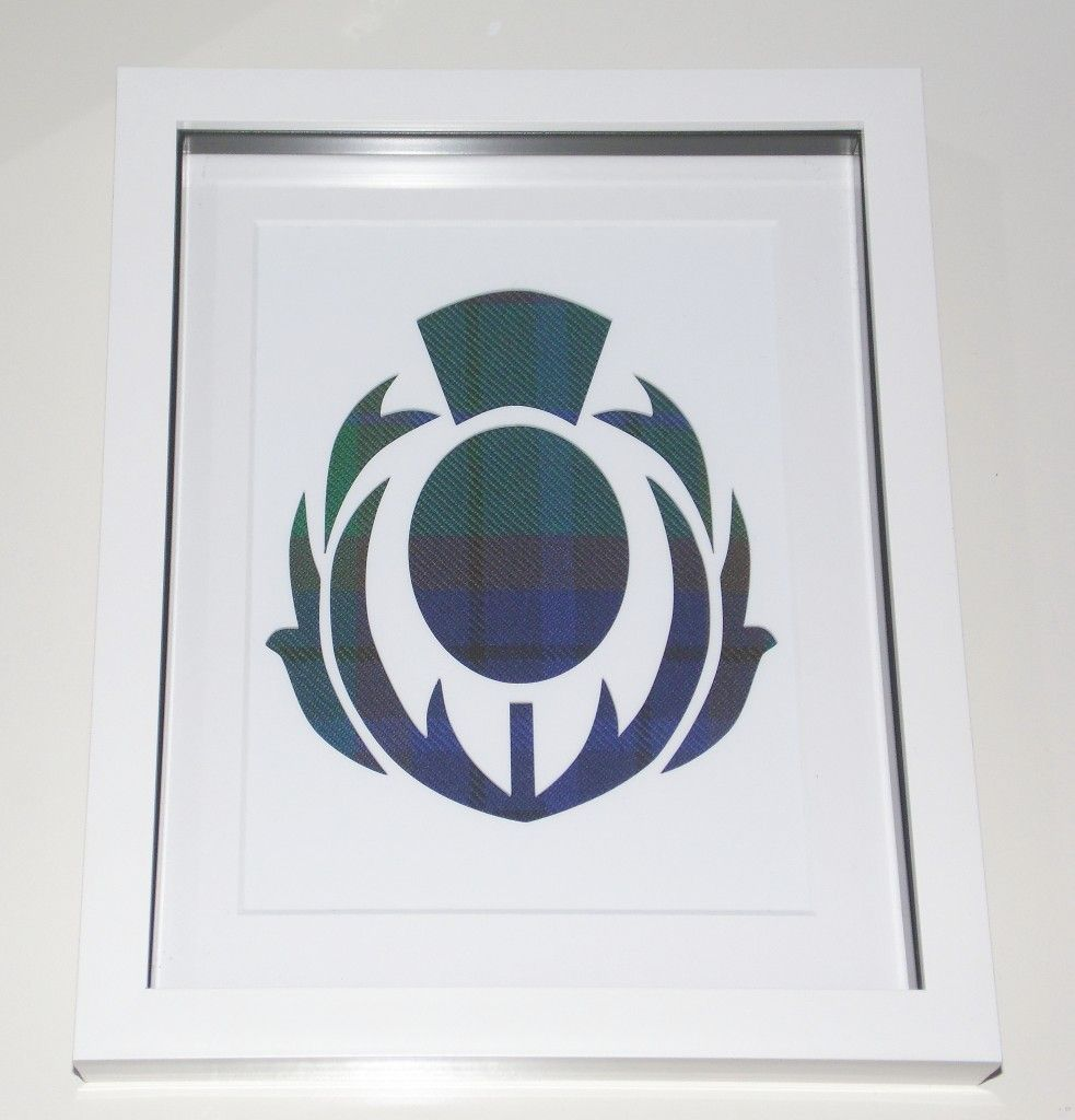Flower of Scotland cutout