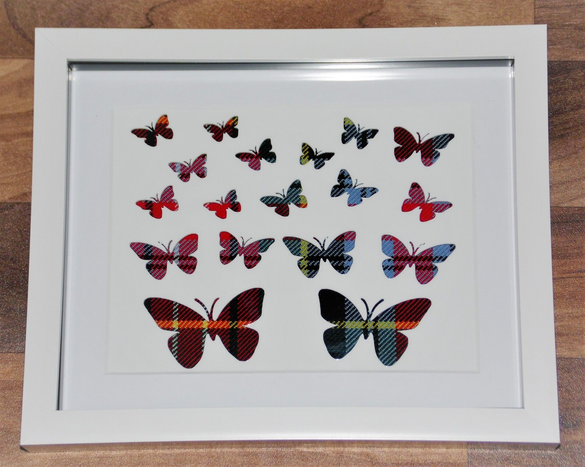 Butterflies cutout