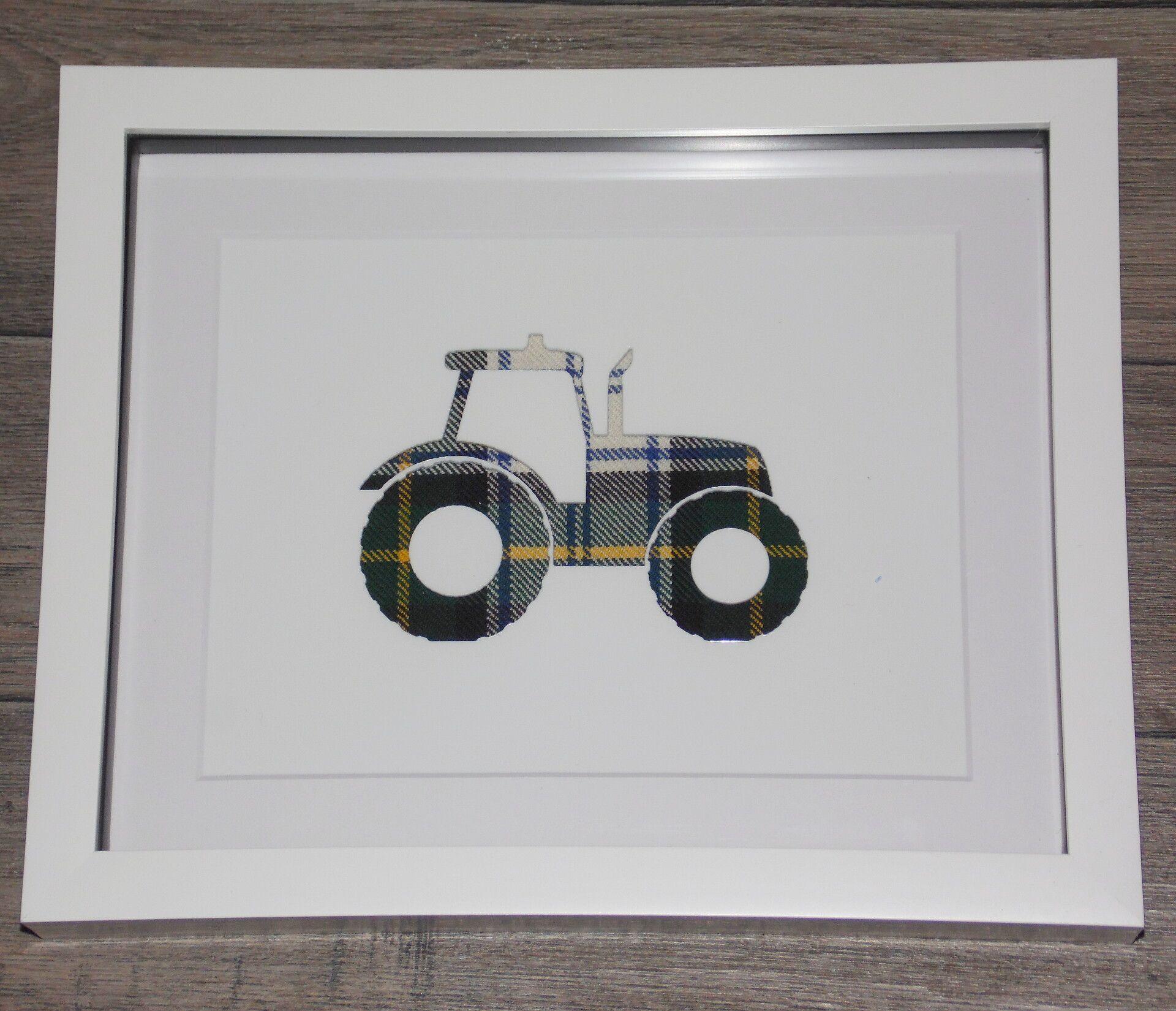Tartan tractor