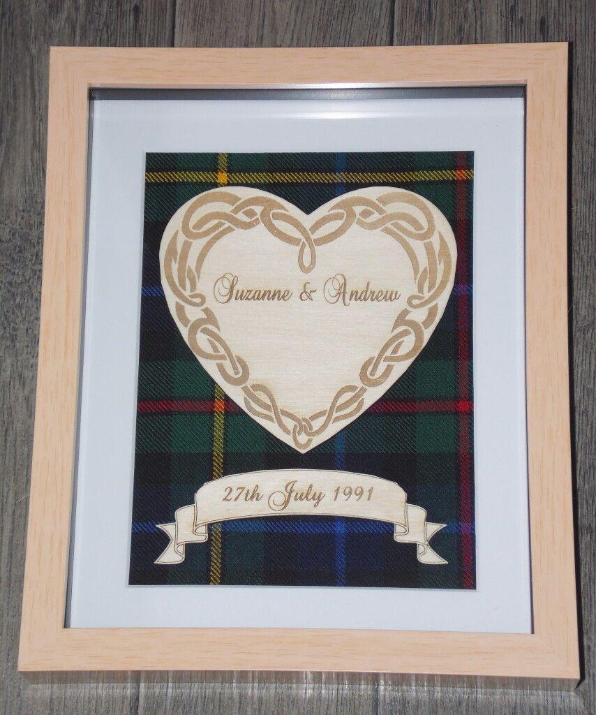 Wedding Heart Engraving